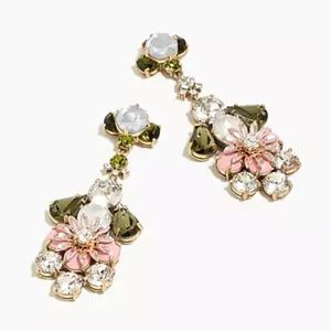 J.Crew Crystal garden earrings